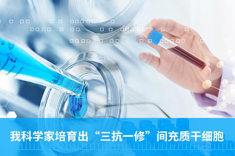 """我科学家培育出""""三抗一修""""间充质干细胞-www.bnbio.com北纳生物"""