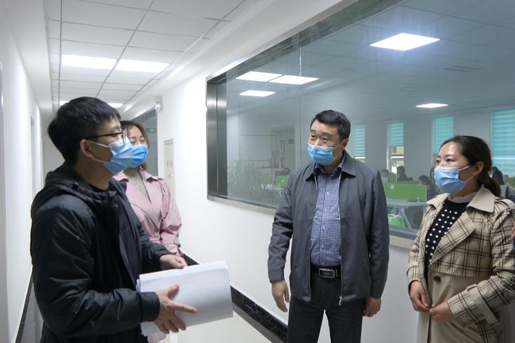 市工信委视察北纳生物复工复产情况-www.bncc.org.cn北纳生物