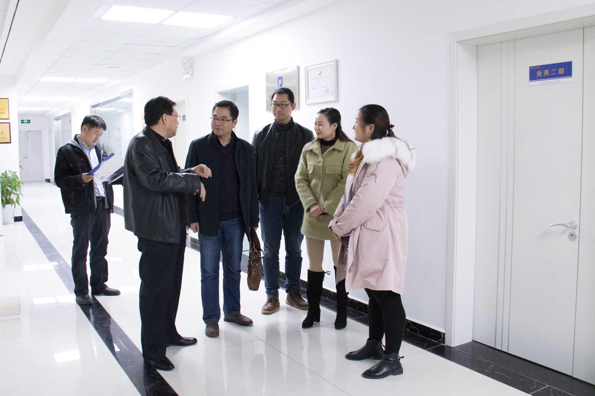 河南省畜牧局主任白跃宇莅临北纳生物调研-www.bncc.org.cn