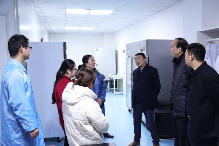 市工信局莅临北纳调研指导工作-www.bncc.org.cn北纳生物